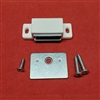 Magnet Catch & Plate Assembly Kit for Shutter. Rectangle Shape. M10