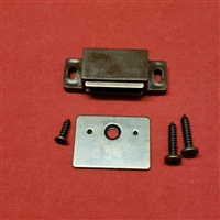 Magnet Assembly Kit for Shutter.  BROWN.  Rectangle Shape. WHM60583