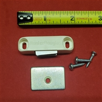 DESIGNER MAGNET ASSEMBLY KIT.  WHITE. HUNTER DOUGLAS