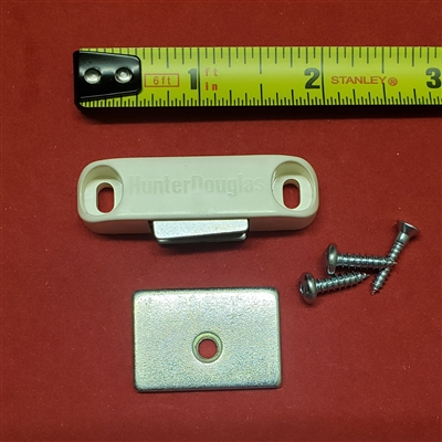 DESIGNER MAGNET ASSEMBLY KIT.  Off WHITE. HUNTER DOUGLAS. WHM60329