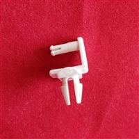#2, REAR ROD LOUVER CUFFLINK, WHITE, PALM BEACH SHUTTER