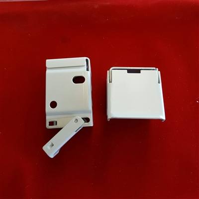 "1.5"" Installation Brackets. Open Out Sideway. Pack of 2. White. 5004037885"