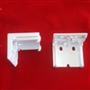 "KIT. 3/4"" & 1 1/4"" Powerise Brackets for Hunter Douglas Duette. Pack of 2"