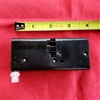 Ultraglide Assy for Hunter Douglas duette. Black, rectangle shape