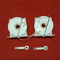 Restring KIT. 2 Flat tape ribbon lift set with Restring Tool, Pocket & Buckle