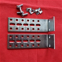 KIT. Extension Mounting Brackets for Shades. Pack of 3