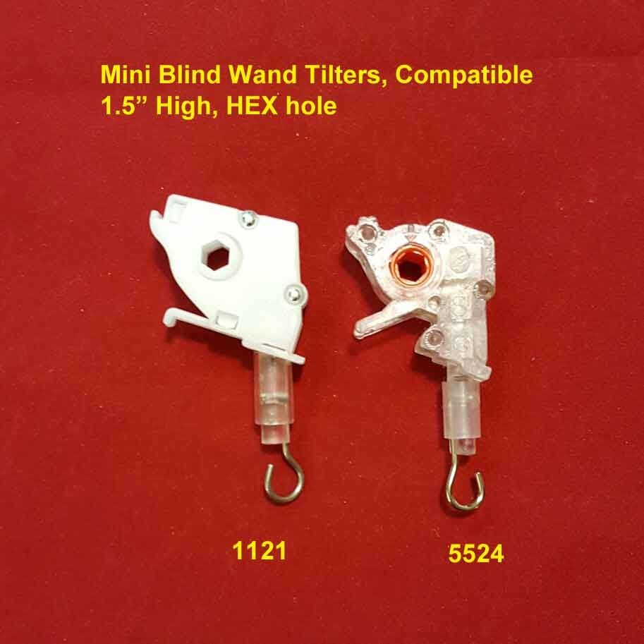 Wand Tilter 1 Quot Mini Blind Orange Hex Hole Clear Body
