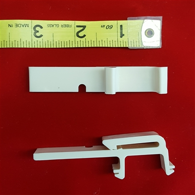 Valance Clip for Vertical Blind , Curved Headrail,  Paramount