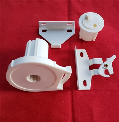 "Arabel R16 SET: Clutch + End Plug + Brackets for Roller Screen Shade. 1.5"" C-type clutch. Lift 16lbs"