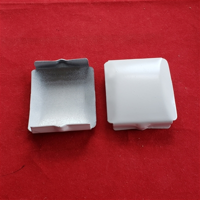 "1 pair of Bottom Rail Cap for Cloth Tape, 2"" Blind. WL-205"