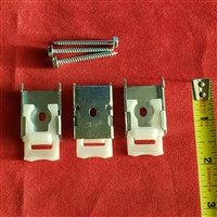 KIT.Cordless Mounting Bracket for roller shade. Pack of 3