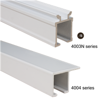 R TRACK CEILING MOUNT ONLY, 8FT TRACK, WHITE. 4004 series