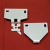 "2"" PROJECTION. White. Pair of  Roller Shade Brackets. RB580W"