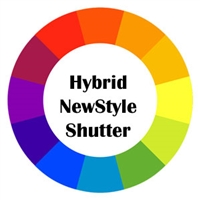Hybrid Shutter Color - Newstyle by Hunter Douglas