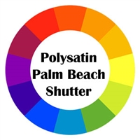 Polysatin Palm Beach Shutter Color