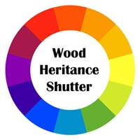 Hardwood Shutter Color Heritance by Hunter Douglas