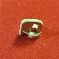 White Plastic Lock for Spring Loaded Motor, Literise