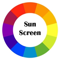 Sun Screen Roller Shade - Fabric & Color
