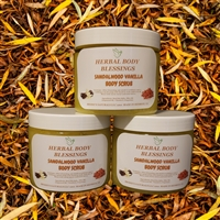 Sandalwood Vanilla body scrub