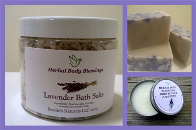 Lavender Bath & Body Trio