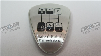 Eaton Fuller 7L speed shift knob medallion
