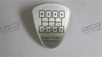 Eaton Fuller 7 speed shift knob pattern medallion