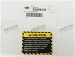 25157779 or 4MR21059M Mack caution decal