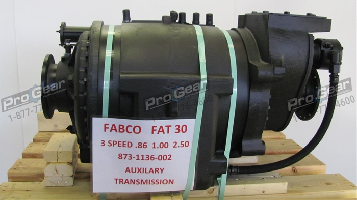 FABCO FAT 30 AUXILIARY TRANSMISSION