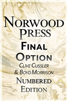 Cussler, Clive & Morrison, Boyd | Final Option | Double-Signed Numbered Ltd Edition