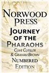 Cussler, Clive & Brown, Graham | Journey of the Pharaohs | Double-Signed Numbered Ltd Edition