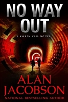 No Way Out by Alan Jacobson | Signed First Edition Book