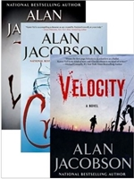 The Karen Vail Trilogy Vol. 1 w/ Slipcase 7TH VICTIM, CRUSH, VELOCITY by Alan Jacobson | Signed Limited Edition Book