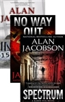 The Karen Vail Trilogy Vol. 2 w/ Slipcase: Inmate 1577, No Way Out, Spectrum by Alan Jacobson | Signed Limited Edition Book