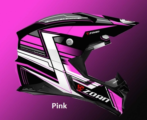 Zoan Synchrony MX Race Equipe Flat Silver ATV Offroad Motorcycle Riding Helmet
