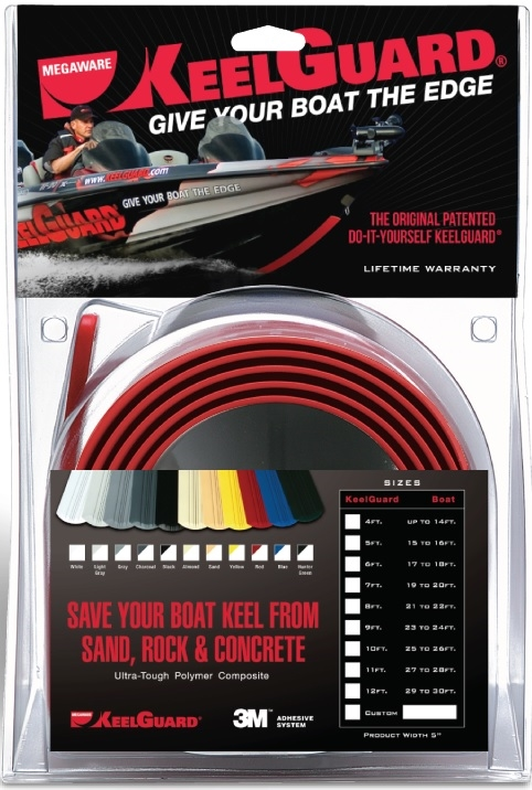 MEGAWARE KeelGuard ® - 4' (boats up to 14')
