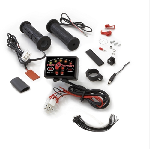 Snowmobile//ATV Hand warmers Bronco Heated Snowmobile//ATV Grips thumb warmer