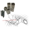 Caliber V-Front Ramp Shield Adapter Kit for Aluma/Sled Bed Trailers