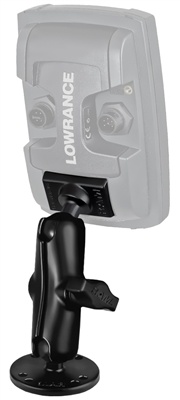 Ram Quick Release Mount - Lowrance Elite 4, Mark 4 & Hook 4 (Light Use)