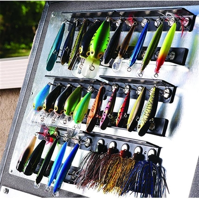 The Lure Hangar Kit, Tackle Management system.