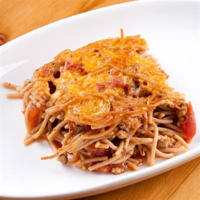 Spaghetti Bake recipe | Gospel Bookstore in Amish Country