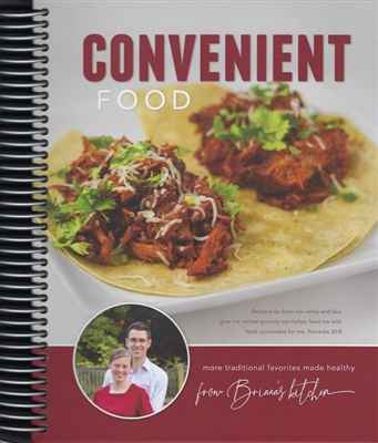 Convenient Food Cookbook
