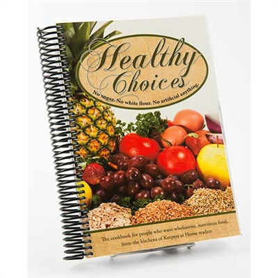 Healthy Choices Cookbook | Amish Country Cooks in Ohio
