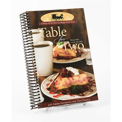 Table for Two Cookbook | Amish Country Cookbooks in Ohio