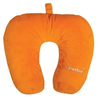 Classic Travel Pillow - Orange – by XpresSpa - Classic Neck Pillows - XpresSpa