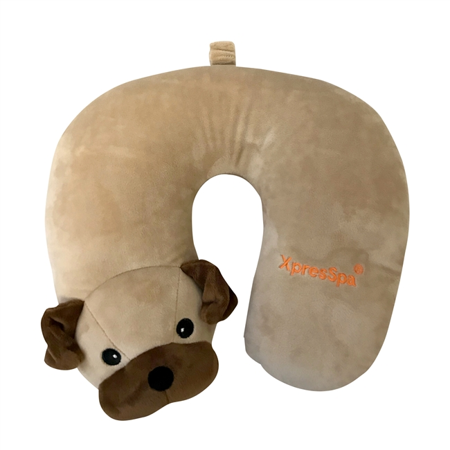 Animal Travel Pillow - Pug - XpresSpa