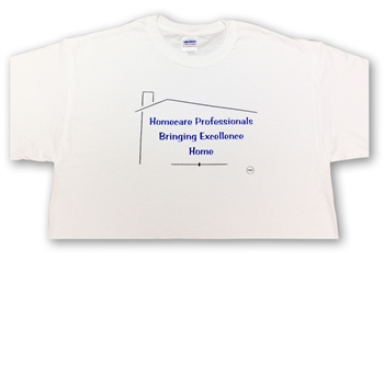 0104L Homecare Excellence White T-shirt, Large (7 Coupons)