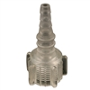 0138 Swivel Oxygen Connector, Colorless, 50/Pkg