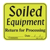 "2500 ""Soiled"" label, 200/roll"