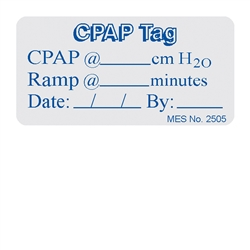 "2505 ""CPAP Tag"" label, 150/roll"