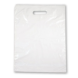 4994 Small Plain Patch Handle Bag, 500/bx